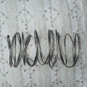 Bebe silver bracelet circa 2008